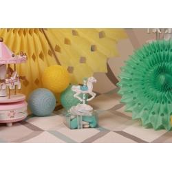 Cheval à Carrousel sur Astuccio - Boîtes à dragées - Dragées Braquier