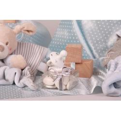 Tétine blanche sur Astuccio - Boîtes à dragées - Dragées Braquier