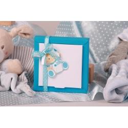Boîte Nina GM bébé biberon - Boîte à dragées Baptême