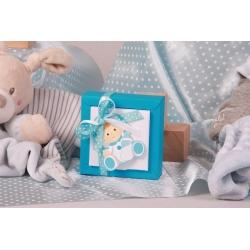 Boîte Nina PM bébé biberon - Boîte à dragées Baptême