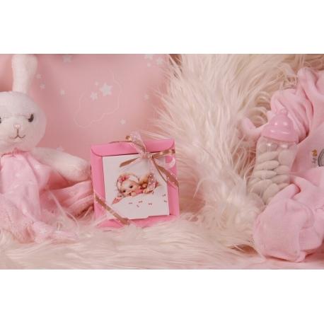 Boîte Nina PM bébé vintage - Boîtes à dragées - Dragées Braquier