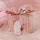 Boîte cube tétine argent - Boîtes à dragées - Dragées Braquier