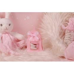 Biberon rose nacré - Boîtes à dragées - Dragées Braquier