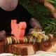 Din'orange sur réglette - Boîtes à dragées - Dragées Braquier