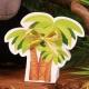 Boîte Palmier - Boîtes à dragées - Dragées Braquier