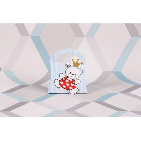 Bébé ours sur sixties - Boîtes à dragées - Dragées Braquier