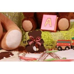 Ourson brun - Boîtes à dragées - Dragées Braquier