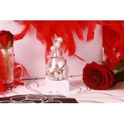 Perles sur goutte - Boîtes à dragées Mariage