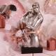 Couple argent - Boîtes à dragées - Dragées Braquier