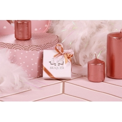 Caritas blanche rose gold