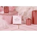 Caritas white pink ribbon