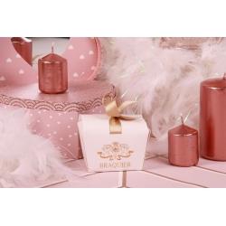 Benjamin blanc et ruban - Boîtes à dragées - Dragées Braquier