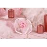 Bouquet rose sur tulle - Boîtes à dragées - Dragées Braquier
