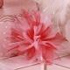 Tulle rose et bordeaux - Boîtes à dragées - Dragées Braquier