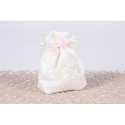Pochon fleurette - Boîtes à dragées - Dragées Braquier