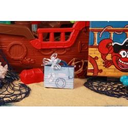 Valise bleue - Boîtes à dragées - Dragées Braquier