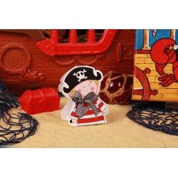 Ballotin pirate - Boîtes à dragées - Dragées Braquier