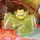 Hibou vert sur tulle - Boîtes à dragées - Dragées Braquier