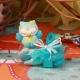 Hibou bleu sur boîte carrée - Boîtes à dragées - Dragées Braquier