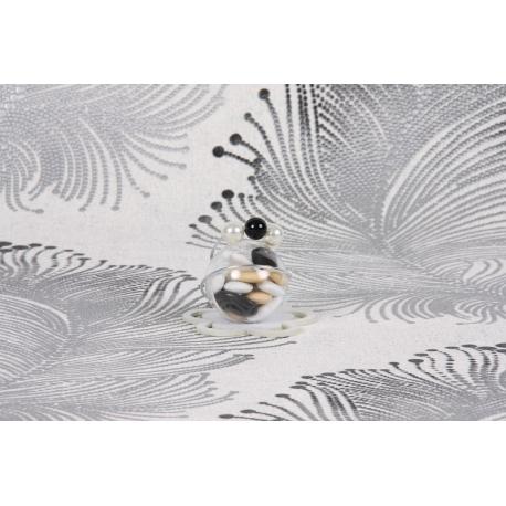Perle noire sur boule - Boîtes à dragées - Dragées Braquier