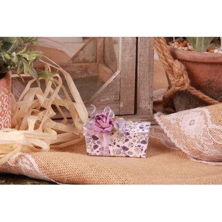 Charlotte Liberty lilas - Boîtes à dragées - Dragées Braquier