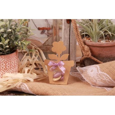 Fleur cannelle - Boîtes à dragées - Dragées Braquier