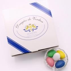 Dragée Géante, Boîte de 1 kg - Dragées Braquier, confiseur chocolatier à Verdun