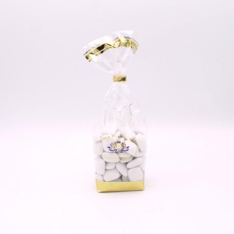 Carre Nougatine, Confectioner-bag 200 g - Dragées Braquier, confiseur chocolatier à Verdun
