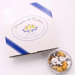 Caillou Lorrain, Cardboard-box 1 kg - Dragées Braquier, confiseur chocolatier à Verdun