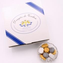 Galet du Lac, Boîte de 1 kg - Dragées Braquier, confiseur chocolatier à Verdun