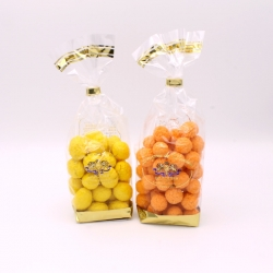Orange et Citron, Confectioner-bag 200 g - Dragées Braquier, confiseur chocolatier à Verdun