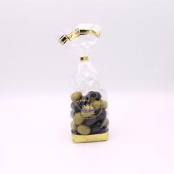 Olives, Confectioner-bag 200 g - Dragées Braquier, confiseur chocolatier à Verdun