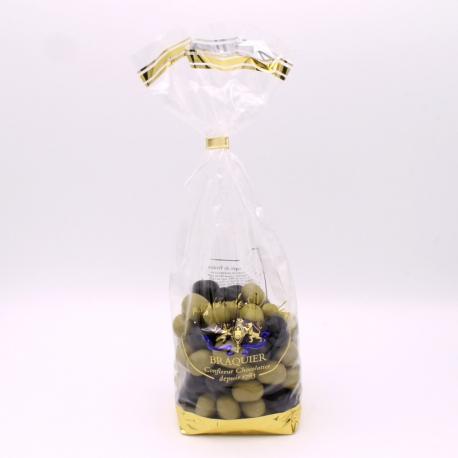 Olives, Confectioner-bag 500 g - Dragées Braquier, confiseur chocolatier à Verdun