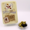 "Olives, ""Love and Sweets"" metal-box 400 g"