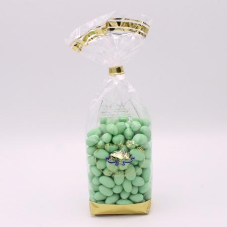 Pistache, Confectioner-bag 500 g - Dragées Braquier, confiseur chocolatier à Verdun