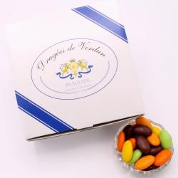 Pâte de fruits, Cardboard-box 1 kg - Dragées Braquier, confiseur chocolatier à Verdun