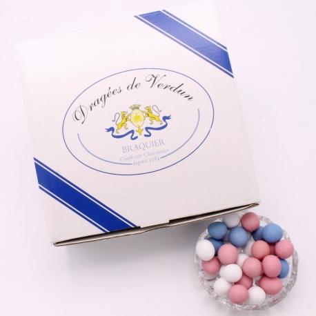 Choc'Noisette, Cardboard-box 1 kg - Dragées Braquier, confiseur chocolatier à Verdun