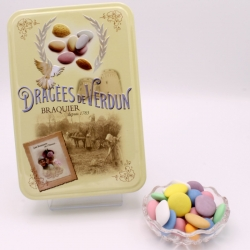 "Royal Degustation, ""Love and Sweets"" metal-box 400 g - Dragées Braquier, confiseur chocolatier à Verdun"