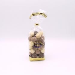 Léon Braquier Coconut,Confectioner-bag 200 g - Dragées Braquier, confiseur chocolatier à Verdun