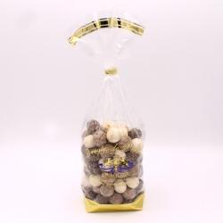 Léon Braquier Coconut, Confectioner-bag 500 g - Dragées Braquier, confiseur chocolatier à Verdun