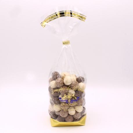 Noix de Coco, Sachet de 500 g - Dragées Braquier, confiseur chocolatier à Verdun