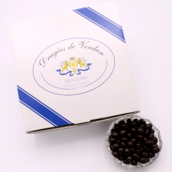 Grains de café, Cardboard-box 1 kg - Dragées Braquier, confiseur chocolatier à Verdun