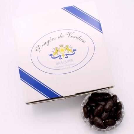 Braquine, Boîte de 1 kg - Dragées Braquier, confiseur chocolatier à Verdun
