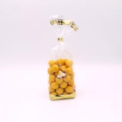 Perle mirabelle, Confectioner-bag 200 g - Dragées Braquier, confiseur chocolatier à Verdun