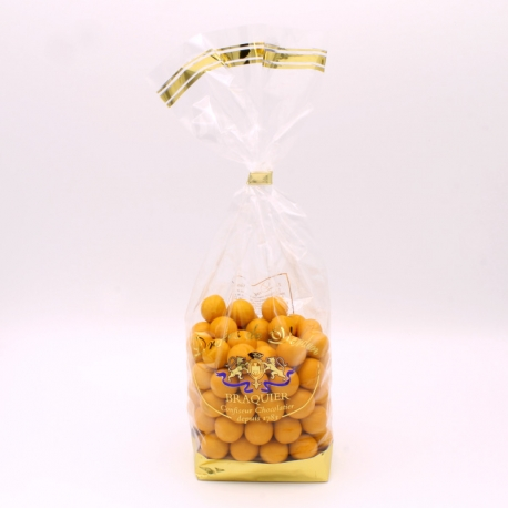Perle mirabelle, Confectioner-bag 500 g - Dragées Braquier, confiseur chocolatier à Verdun