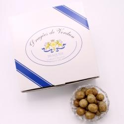 Pomme de Terre, Cardboard-box 1 kg - Dragées Braquier, confiseur chocolatier à Verdun