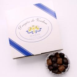 Pavé, Cardboard-box 1 kg - Dragées Braquier, confiseur chocolatier à Verdun