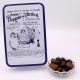 """Pavé, Boîte métal """"Certifiées Braquier"""" 400 g - Dragées Braquier, confiseur chocolatier à Verdun"""