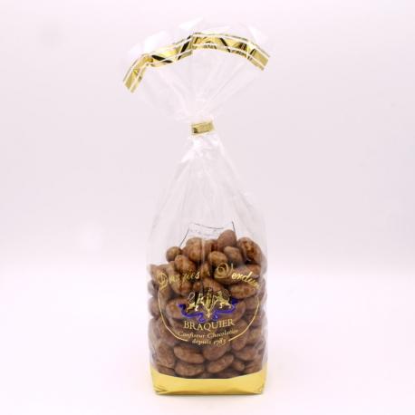 Léontine 3 chocolats, Sachet de 500 g - Dragées Braquier, confiseur chocolatier à Verdun