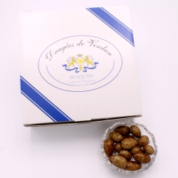 3 Chocolates Léontine, Cardboard-box 1 kg - Dragées Braquier, confiseur chocolatier à Verdun